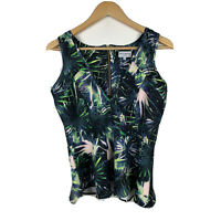 Wolf & Whistle London Womens Top Size 12 Sleeveless Tank Top Good Condition