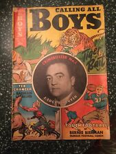 Calling all boys #14. Tear on front cover ** Reduced**