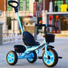 3 Wheel Bicycle Children Tricycle Toddler Kids Anti-Slip Trike Tricycle Bike New