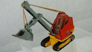 Corgi Major Toys 1128 Priestman Cub Shovel Vintage Toy Bulldozer Construction