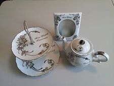 Silver Wedding Anniversary (TEA POT WITH MUSIC BOX) SPECIAL GIFTS SET