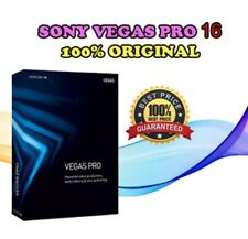 Sony Vegas PRO 16 Full 100% ORIGINAL BUILD LICENSE Software for Video Editing