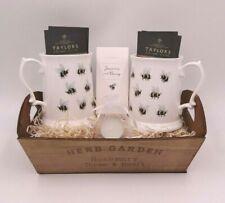 Couple's Christmas Gift Hamper Bee Mug Tea Cup Hot Chocolate Basket Idea Mum Dad