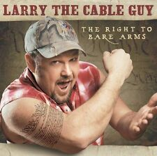 ~BACK ART MISSING~ Larry the Cable Guy CD Right to Bare Arms