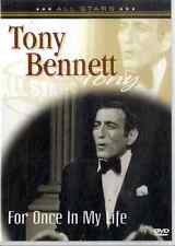 TONY BENNETT For Once in My Life DVD NEAR MINT