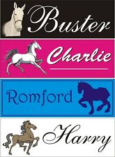 Personalised Horse stable door name plate/plaque/sign