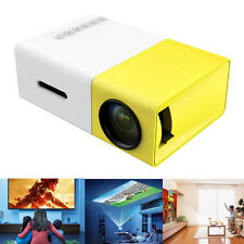 Portable YG300 Home LED Projector USB Cinema Theater Multimedia USB SD AV HDMI