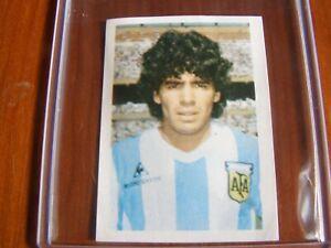 .Maradona World Cup Spain 82 Rookie sticker Disvenda - Excellent Condition Rare