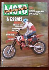 MOTO Tout-Terrain n°33; Essais 125 Honda contre Ancillotti, 250 Kawa, 250 Portal