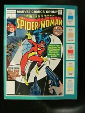 Spider Woman Marvel Color Style Guide Character Sheet Rare