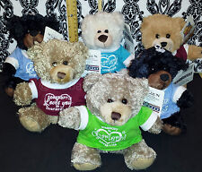 (6) My Town Originals Teddy Bear  Somebody in Charleroi, PA Loves You!  CUTE!
