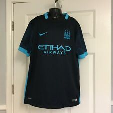 Manchester City Football Club Tee Shirt. Nike Dri-Fit. Age 12/13 years. New.