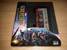 Guardians of the Galaxy Steelbook (Blu-ray 3D/2D) Taiwan Region Free RARE OOP