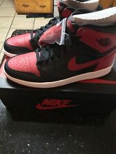 NIKE AIR JORDAN 1 BRED RETRO 2013 555088-023 US 11 DS NEW not 2016 BANNED