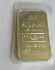 1 oz silver bar asahi fine silver troy bar (799)