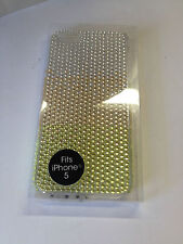 I Phone 5 Apple Case Yellow Bling Case Fades From Dark to Light NWT
