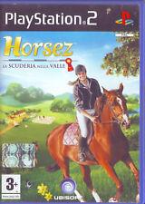 HORSEZ La Scuderia Nella Valle (2007) PS2 ORIGINALE IN ITALIANO USATO