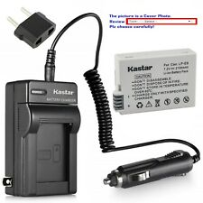 Kastar Battery Travel Charger for Canon LP-E8 LC-E8 & Canon EOS 600D Camera