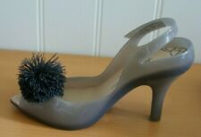 VIVIENNE WESTWOOD Melissa Anglomania SHOES UK 6 High Heels Grey Gell