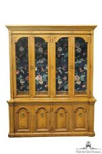 THOMASVILLE Belvedere Italian Neoclassical 65″ Lighted China Cabinet 810-4400