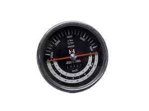 Jäger original Traktormeter linksdrehend 26km für Ihc Case ih 323 353 423