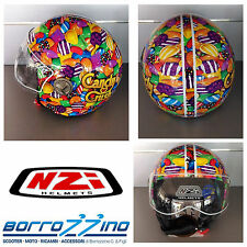 CASCO NZI ZETA SUGARBABY CANDY CRUSH GRAPHICS - GRAFICA - TG. M 57 cm