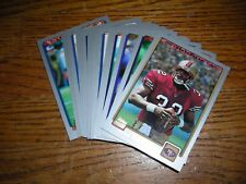 "2001 Topps ""Rookie"" football card lot, (17), Barlow, Hasselbeck, Carter, Henry,"