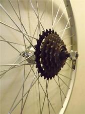 "24"" REAR Mountain / Kids Bike / Cycle Wheel + 5 SPEED FREEWHEEL"
