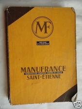 CATALOGUE MANUFRANCE 1962 / VINTAGE 60th