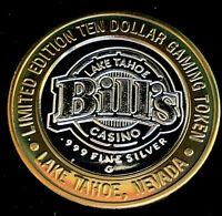 .999 $10 Silver Strike • Bill's Casino • Lake Tahoe, NV • Kayaking
