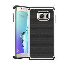 Étuis, housses et coques blancs en plastique rigide Samsung Galaxy S7 edge pour téléphone mobile et assistant personnel (PDA)