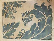 Fortuny fabric - Glicine, Green and Gold Texture