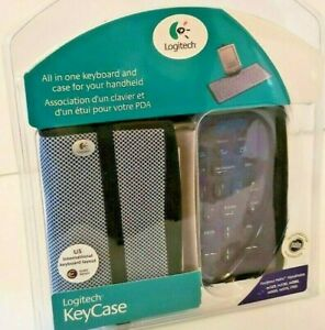 New Logitech KeyCase All In One Keyboard & Case for Palm PDA Handheld