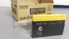 Maxell DVCPRO DVP-66M Digital Video Cassettes - Box of 7, new in box