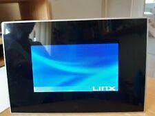 LinX black digital photo frame 7 inch