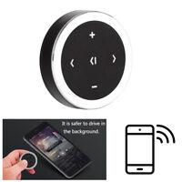 Car Wireless Bluetooth Media Audio Remote Control Button Steering Wheel Mount NT