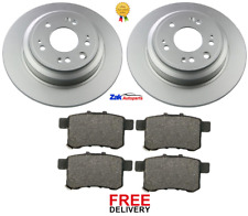 FOR HONDA ACCORD 2.0 2.2 I-DTEC 08-14 FRONT REAR BRAKE DISCS AND PADS SET