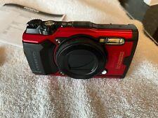 Olympus Tough Tg-6 12.0Mp Point & Shoot Digital Camera - Red