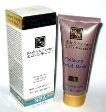ISRAEL 100 ml COLLAGEN FIRMING ANTI AGING FACIAL FACE MASK DEAD SEA MINERALS
