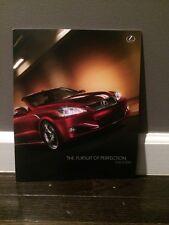 2010 Lexus Full-Line overview new vehicle brochure