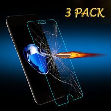3 Pack iPhone 8/ 7/6S/Plus Clear Screen Protector Tempered Glass Protective Film