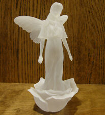"""Frosted Lucite Sculpture, FAERIES #SF20093 ROSIE, NEW/Box From Retail Store 7.5"""""""