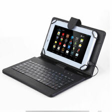 Black For LG Various Tablet Leather Stand Case Cover With Micro USB Keyboard US