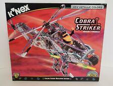 K'Nex Cobra Striker Building Set Nib