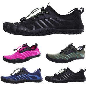 Mens Womens Aqua Shoes Surf Trainers Water Shoes Hiking Training Slip Resistant