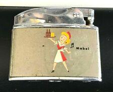 Rare Vintage Hey Mabel Carling Black Label Beer Cigarette Lighter Cleveland Oh