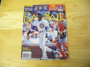 Beckett Baseball Card Monthly Magazine - April 1999 (Sammy Sosa) - VINTAGE