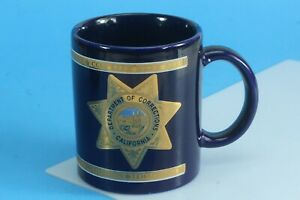 Kapan-Kent Co. Inc. 22K Gold Department Of Corrections California Coffee Mug.