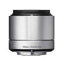 A - Sigma 60mm F2.8 DN Silver Art Series Lens: MICRO FOUR THIRDS