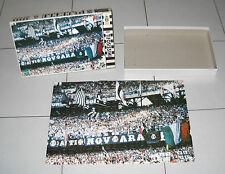 Puzzle JUVENTUS I tifosissimi MB Hasbro 204 pz PERFETTO Curva Ultras Stadio